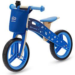 Детский деревянный беговел Kinderkraft Runner Blue