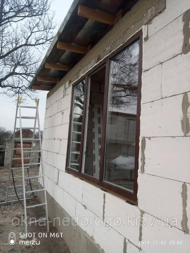 ламіновані вікна, ламіновані вікна київ, ламіновані вікна ціна,