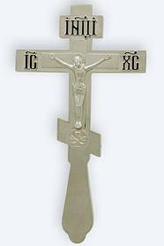 Хрест напрестольний 3-3 малий. нікель