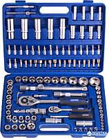 Набор инструментов на 108 предметов, Профессиональный набор инструментов для дома или гаража 1/4, 1/2 108 эл