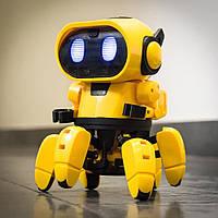 Интерактивный Робот HG-715, Интерактивная игрушка робот, Детский робот-конструктор Паук Тоби