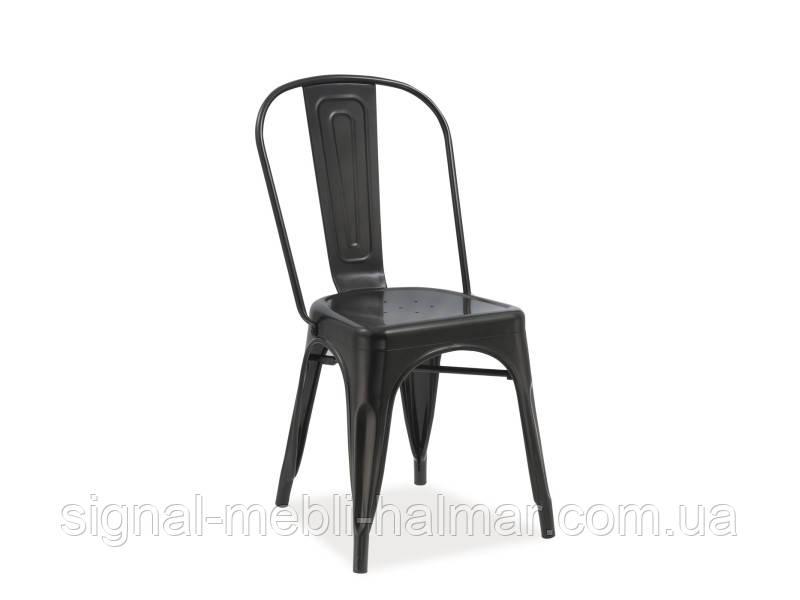 Купить кухонный стул Loft черный матовый (signal)