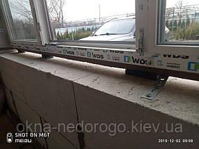 Тристулкові вікна WDS 5 Series з фрамугою, фото 3