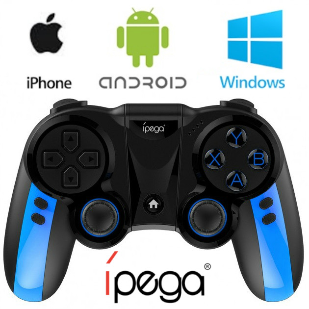 Геймпад беспроводной ipega PG 9090.Gamepad для смартфона IOS Android.