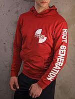 Худи мужское толстовка свитшот с капюшоном весенний осенний с Versace Riot Generation, фото 1