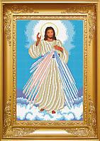 Схема для вишивки бісером Ісусе, уповаю на Тебе. Арт. КРВ-21