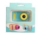 Детский фотоаппарат с экраном Smart Kids Camera V8 ГОЛУБОЙ | Цифровой фотоаппарат для детей, фото 3