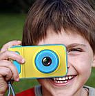Детский фотоаппарат с экраном Smart Kids Camera V8 ГОЛУБОЙ | Цифровой фотоаппарат для детей, фото 4