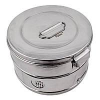 Коробка стерилізаційна з нержавіючої сталі, SCHIMMELBUSCH, 240 мм х 145 мм, фото 1