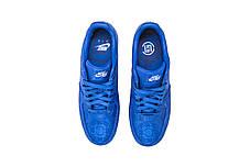 """Кроссовки Nike Clot x Air Force 1 Low """"Синие"""", фото 3"""