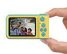 Детский фотоаппарат с экраном Smart Kids Camera V8 ГОЛУБОЙ | Цифровой фотоаппарат для детей, фото 7
