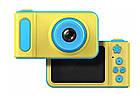 Детский фотоаппарат с экраном Smart Kids Camera V8 ГОЛУБОЙ | Цифровой фотоаппарат для детей, фото 9