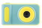 Детский фотоаппарат с экраном Smart Kids Camera V8 ГОЛУБОЙ | Цифровой фотоаппарат для детей, фото 2