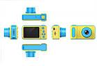 Детский фотоаппарат с экраном Smart Kids Camera V8 ГОЛУБОЙ | Цифровой фотоаппарат для детей, фото 10