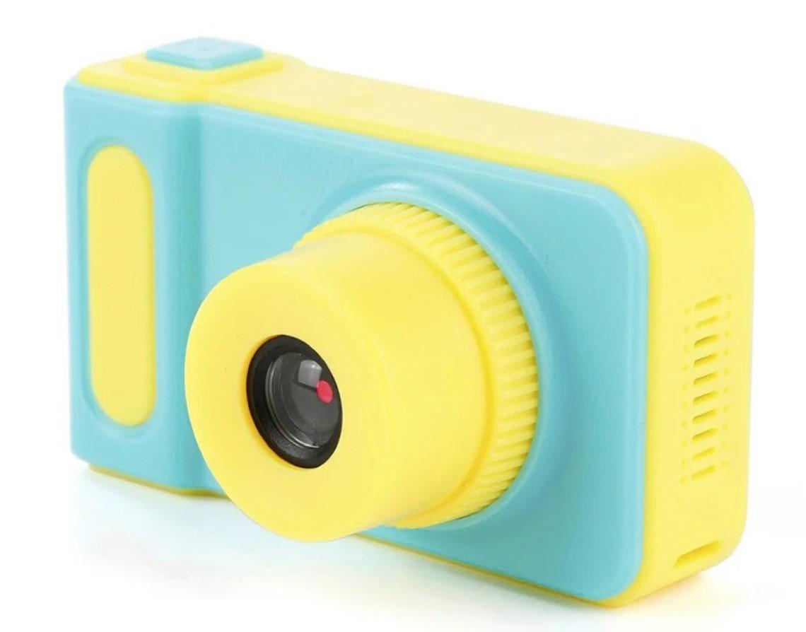 Детский фотоаппарат с экраном Smart Kids Camera V8 ГОЛУБОЙ | Цифровой фотоаппарат для детей