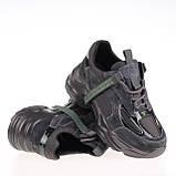 Стильные женские кроссовки  Lonza HLN29021 GREY ZAMSHA ВЕСНА 2020 /// 29021 GRAY//882, фото 3