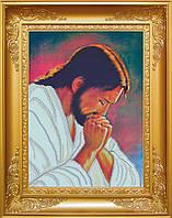 Схема для вишивки бісером Молитва Ісуса. Арт. КРВ-18