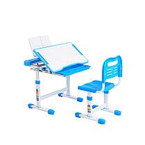 Эргономический комплект Cubby парта и стул-трансформеры Vanda Blue, фото 3