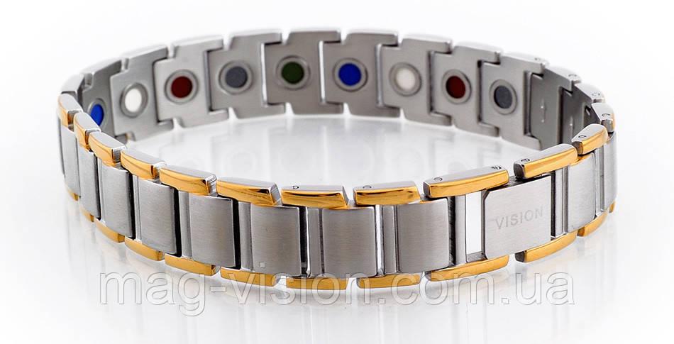Лечебный браслет VISION PentActiv (ПентАктив) Мужской браслет