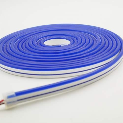 Світлодіодний неон AVT 6*12мм 12v синій IP65