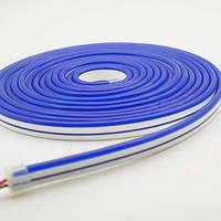 Світлодіодний неон AVT 6*12мм 12v синій IP65, фото 1