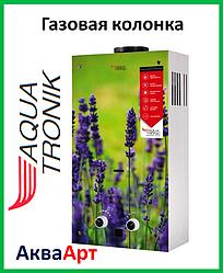Колонка газовая проточная Акватроник JSD20-AG108 10 л стекло (цветок)