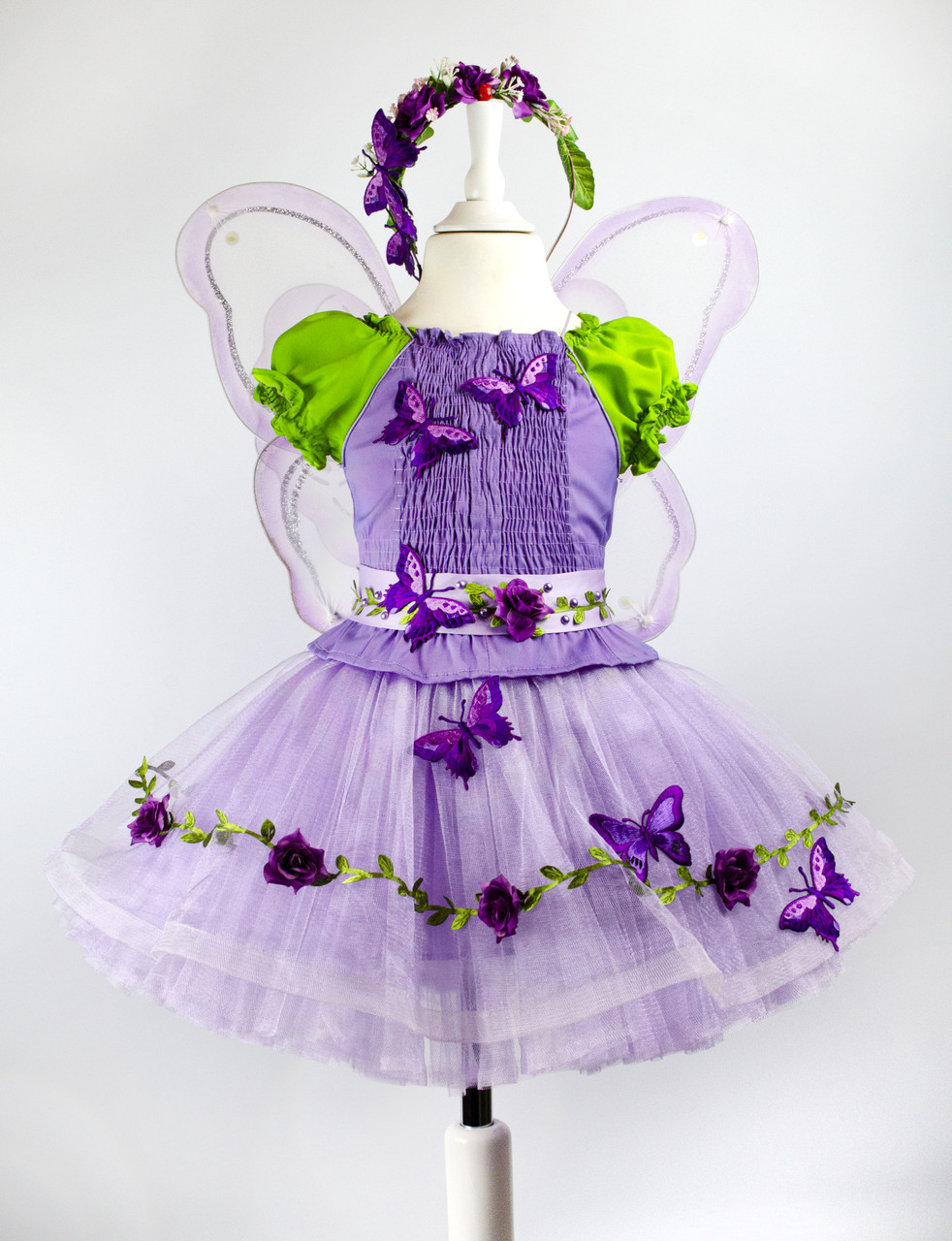 Детский карнавальный костюм Бабочки для девочки (прокат)