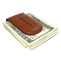 Зажим для денег кожаный на магните DNK Klip magnes-A Foxy