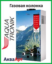 Колонка газовая проточная Акватроник JSD20-AG208 10 л стекло (горы)