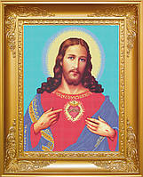 Схема для вишивки бісером Спаситель Ісус Христос . Арт. КРВ-8 3878a4797117b