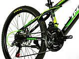 Велосипед спортивный IMPULS 24 CACTUS САЛАТОВЫЙ, фото 2