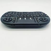 Беспроводная русская клавиатура с тачпадом NicePrice Rii mini i8 2.4G, фото 3