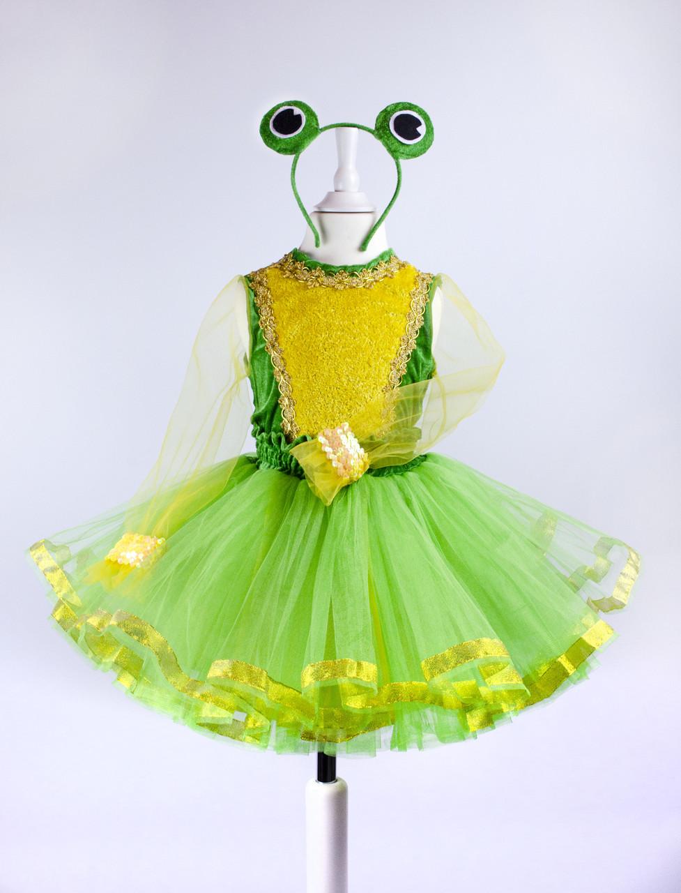 Карнавальный костюм Лягушки для девочки (прокат, Киев)