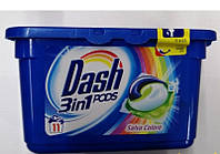 Капсулы для стирки Dash Salva Сolor 3в1, 11шт