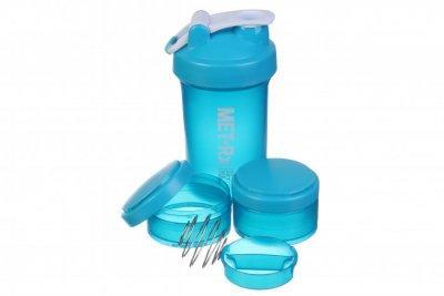 Бутылка-шейкер спортивная MET-Rx