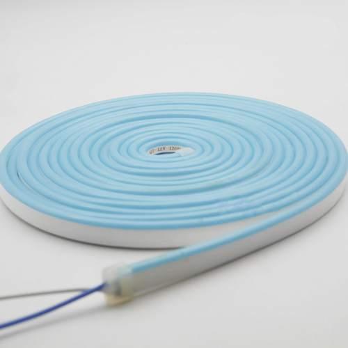 Світлодіодний неон AVT 6*12мм 12v блакитний лід IP65