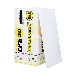 Плита пінополістирольна Budmonster EPS-30 1000х500х50 мм (8.5 кг/м3)