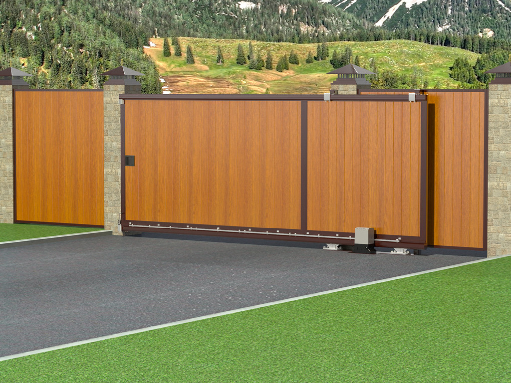 Рассмотрите эти 3 вещи при выборе между установкой автоматических распашных ворот, по сравнению с раздвижными автоматическими воротами