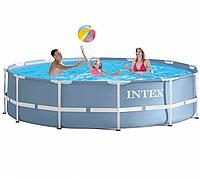 Каркасный бассейн Prism Frame Pool Intex 26710