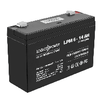 Аккумулятор Logicpower 6V / 14Ah для детских электромобилей