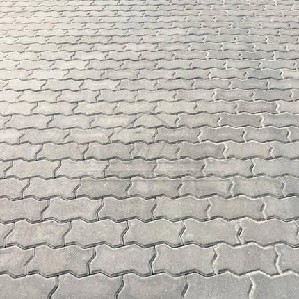 """Тротуарная плитка """"Волна"""" 240х120 высота 80 мм серая, фото 2"""