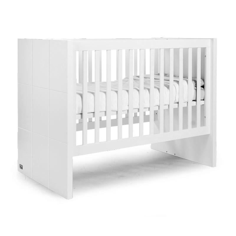 Дитяче ліжко Childhome QUADRO WHITE
