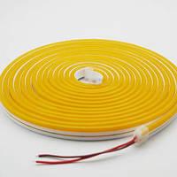 Світлодіодний неон AVT 6*12мм 12v лимонно-жовтий IP65