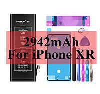 Аккумулятор Nohon для Apple iPhone SE, 5, 5s/5c, 6, 6+, 6s, 7, 7+, 8, X, XR, XS, XS Max + инструмент. Оригинал XR (2492 mAh)