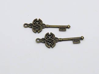 Металлический ключик. 45х17мм