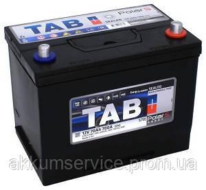 Аккумулятор автомобильный TAB Polar S 75AH L+ 740A Asia min (246775)