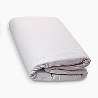 Матрас Топпер Lintex (зима/лето) 180х200х3 см., ткань лен, серый