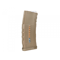 Механический магазин BattleAxe Enhanced Grip Polymer Magazine AR-15/M4 150bbs Coyote