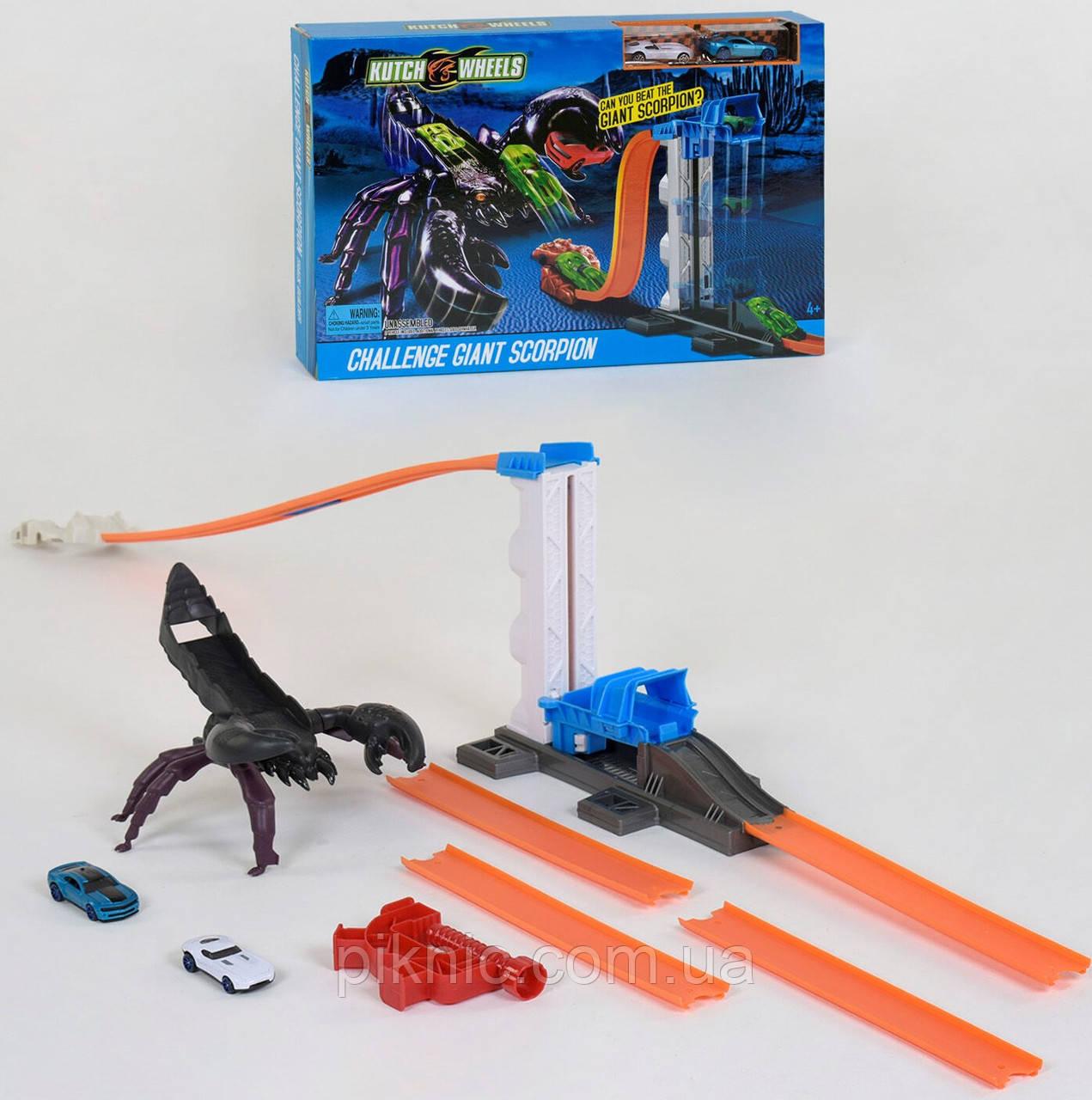 Автотрек Скорпион для детей. Детский авто трек гоночный с машинками