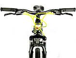 Велосипед спортивный IMPULS 24 CACTUS чёрно оранжевый, фото 4